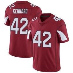 Men's Devon Kennard Arizona Cardinals Men's Limited Cardinal Team Color Vapor Untouchable Nike Jersey