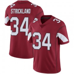 Men's Dontae Strickland Arizona Cardinals Men's Limited Cardinal 100th Vapor Nike Jersey