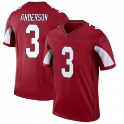 Men's Drew Anderson Arizona Cardinals Men's Legend Cardinal Nike Jersey