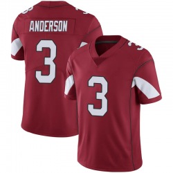 Men's Drew Anderson Arizona Cardinals Men's Limited Cardinal 100th Vapor Nike Jersey