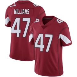 Men's Drew Williams Arizona Cardinals Men's Limited Cardinal 100th Vapor Nike Jersey