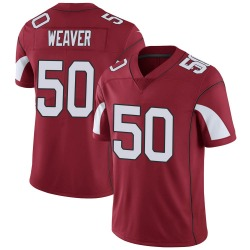 Men's Evan Weaver Arizona Cardinals Men's Limited Cardinal Team Color Vapor Untouchable Nike Jersey