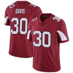 Men's Jalen Davis Arizona Cardinals Men's Limited Cardinal Team Color Vapor Untouchable Nike Jersey