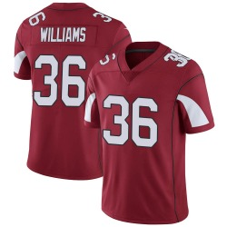 Men's Jarren Williams Arizona Cardinals Men's Limited Cardinal Team Color Vapor Untouchable Nike Jersey