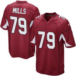 Men's Jordan Mills Arizona Cardinals Men's Game Cardinal Team Color Nike Jersey