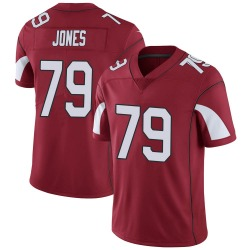 Men's Josh Jones Arizona Cardinals Men's Limited Cardinal Team Color Vapor Untouchable Nike Jersey