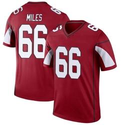 Men's Joshua Miles Arizona Cardinals Men's Legend Cardinal Nike Jersey