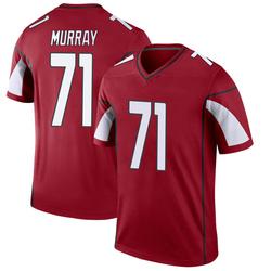 Men's Justin Murray Arizona Cardinals Men's Legend Cardinal Nike Jersey
