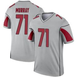 Men's Justin Murray Arizona Cardinals Men's Legend Inverted Silver Nike Jersey