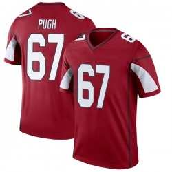 Men's Justin Pugh Arizona Cardinals Men's Legend Cardinal Nike Jersey