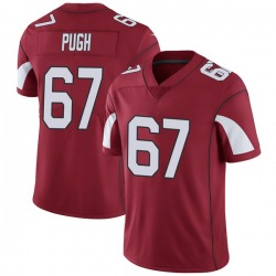 Men's Justin Pugh Arizona Cardinals Men's Limited Cardinal Team Color Vapor Untouchable Nike Jersey