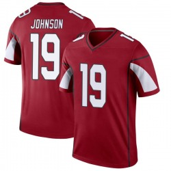 Men's KeeSean Johnson Arizona Cardinals Men's Legend Cardinal Nike Jersey