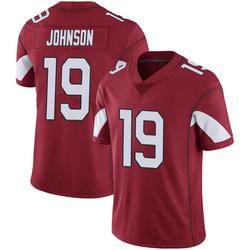 Men's KeeSean Johnson Arizona Cardinals Men's Limited Cardinal 100th Vapor Nike Jersey