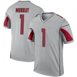 Men's Kyler Murray Arizona Cardinals Men's Legend Inverted Silver Nike Jersey