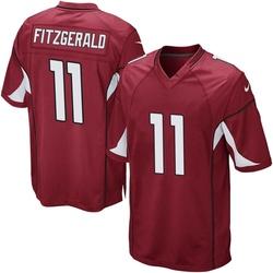 Men's Larry Fitzgerald Arizona Cardinals Men's Game Cardinal Team Color Nike Jersey