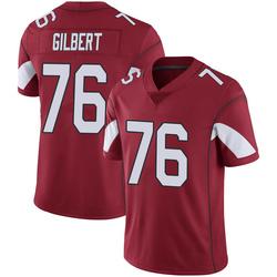 Men's Marcus Gilbert Arizona Cardinals Men's Limited Cardinal 100th Vapor Nike Jersey