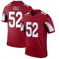 Men's Mason Cole Arizona Cardinals Men's Legend Cardinal Nike Jersey