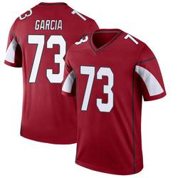 Men's Max Garcia Arizona Cardinals Men's Legend Cardinal Nike Jersey