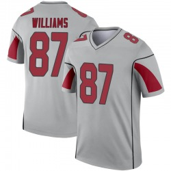 Men's Maxx Williams Arizona Cardinals Men's Legend Inverted Silver Nike Jersey