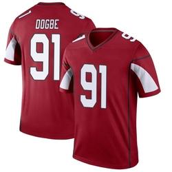 Men's Michael Dogbe Arizona Cardinals Men's Legend Cardinal Nike Jersey