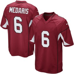 Men's Rashad Medaris Arizona Cardinals Men's Game Cardinal Team Color Nike Jersey