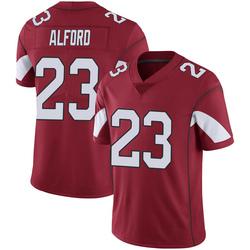 Men's Robert Alford Arizona Cardinals Men's Limited Cardinal 100th Vapor Nike Jersey