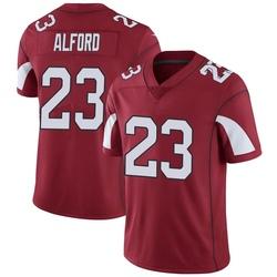 Men's Robert Alford Arizona Cardinals Men's Limited Cardinal Team Color Vapor Untouchable Nike Jersey