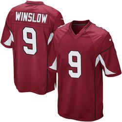 Men's Ryan Winslow Arizona Cardinals Men's Game Cardinal Team Color Nike Jersey