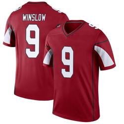 Men's Ryan Winslow Arizona Cardinals Men's Legend Cardinal Nike Jersey