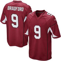 Men's Sam Bradford Arizona Cardinals Men's Game Cardinal Team Color Nike Jersey