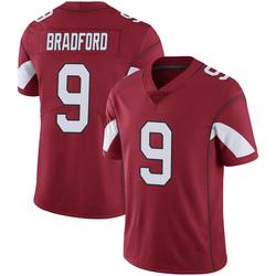 Men's Sam Bradford Arizona Cardinals Men's Limited Cardinal 100th Vapor Nike Jersey
