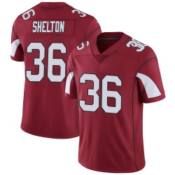 Men's Sojourn Shelton Arizona Cardinals Men's Limited Cardinal Team Color Vapor Untouchable Nike Jersey