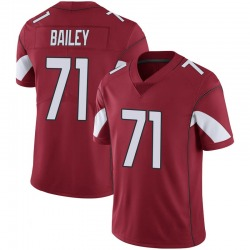 Men's Sterling Bailey Arizona Cardinals Men's Limited Cardinal 100th Vapor Nike Jersey