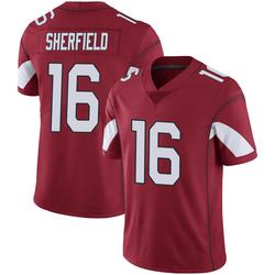 Men's Trent Sherfield Arizona Cardinals Men's Limited Cardinal 100th Vapor Nike Jersey