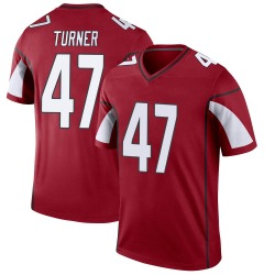 Men's Zeke Turner Arizona Cardinals Men's Legend Cardinal Nike Jersey