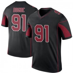 Michael Dogbe Arizona Cardinals Youth Color Rush Legend Nike Jersey - Black