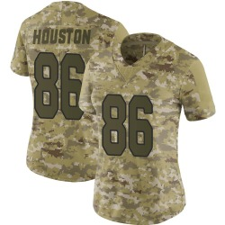 Parker Houston Arizona Cardinals Women's Limited 2018 Salute to Service Nike Jersey - Camo