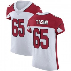 Pasoni Tasini Arizona Cardinals Men's Elite Vapor Untouchable Nike Jersey - White