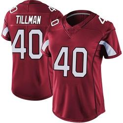 Pat Tillman Arizona Cardinals Women's Limited Vapor Team Color Untouchable Nike Jersey - Red