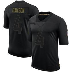 Phil Dawson Arizona Cardinals Men's Limited 2020 Salute To Service Nike Jersey - Black