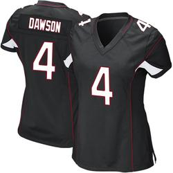 Phil Dawson Arizona Cardinals Women's Game Alternate Nike Jersey - Black