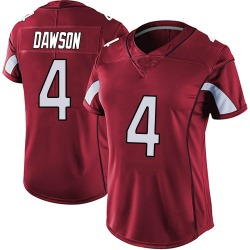 Phil Dawson Arizona Cardinals Women's Limited Vapor Team Color Untouchable Nike Jersey - Red