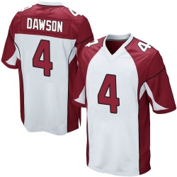 Phil Dawson Arizona Cardinals Youth Game Nike Jersey - White