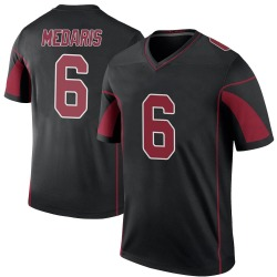 Rashad Medaris Arizona Cardinals Men's Color Rush Legend Nike Jersey - Black