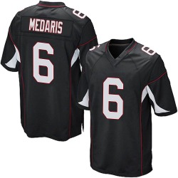 Rashad Medaris Arizona Cardinals Men's Game Alternate Nike Jersey - Black