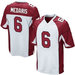 Rashad Medaris Arizona Cardinals Men's Game Nike Jersey - White