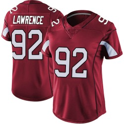 Rashard Lawrence Arizona Cardinals Women's Limited Vapor Team Color Untouchable Nike Jersey - Red