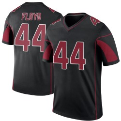 Reggie Floyd Arizona Cardinals Youth Color Rush Legend Nike Jersey - Black