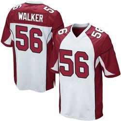 Reggie Walker Arizona Cardinals Men's Game Nike Jersey - White