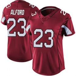 Robert Alford Arizona Cardinals Women's Limited Vapor Team Color Untouchable Nike Jersey - Red